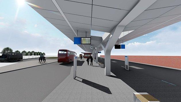 vizualizace terminálu Šumavská