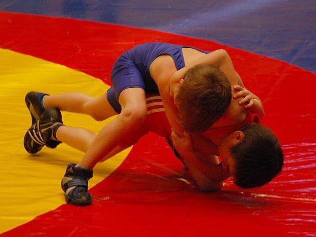 Na Velké ceně města Plzně se představilo více než 200 zápasníků, potěšitelné je, že nejvíce jich bylo v nejmladších kategoriích