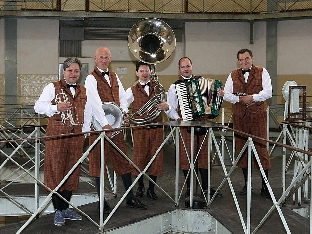 Bratislavská swingová kapela Funny Fellows.