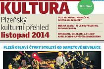 Měsíčník Kultura na listopad