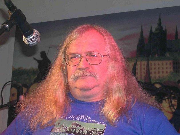 Martin Jirous se účastnil ve čtvrtek autorského čtení v pivovarském muzeu