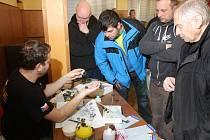 Jakub Vilingr se svým workshopem na Kitfestu ve Stodě