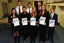 Studenti střední průmyslové školy dopravní soutěžili s fiktivními firmami