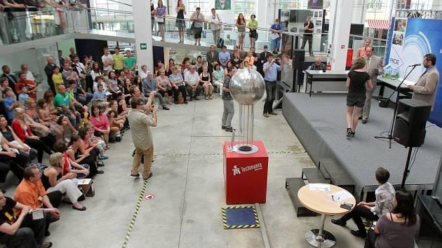 Vyhlášení vítězů soutěže Řemeslo má zlaté dno v Techmanii
