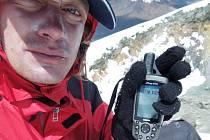 Cestovatel Honza Brotánek má v Jižní Americe několik výzev. Na  této fotce při výstupu na sopku Parinacota v Andách.