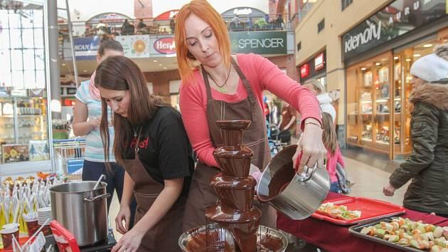 Festival čokolády.