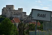 Nejvíc návštěvníků vloni dorazilo v Plzeňském kraji na hrad Rabí, následují Velhartice a pak vodní hrad Švihov.