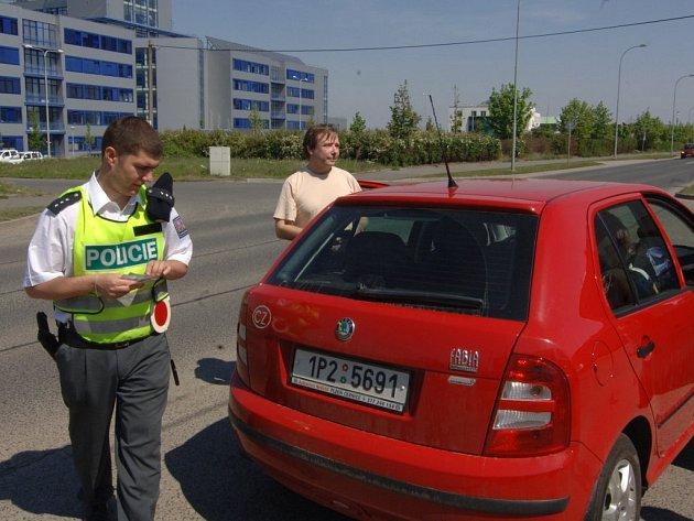 V závěru minulého týdne policisté v Plzni kontrolovali řidiče. Zaměřili se i na cyklisty