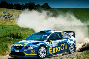Na Rallye Bohemia budou Václav Pech jun. s Petrem Uhlem obhajovat vítězství.