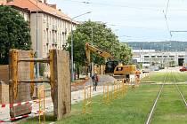 Rekonstrukce Slovanské aleje v Plzni
