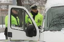 Policisté kontrolovali používání pásů