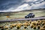 Přejezd do Bolívie, nadmořská výška přes 4 000 m n.m.