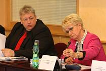 Milan Chovanec a Milada Emmerová