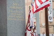 Vzpomínkové setkání u památníku Díky, Ameriko!