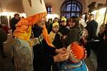 Zahájení tříkrálové sbírky v Plzni