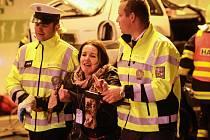 V tunelu Valík se konalo velké cvičení složek integrovaného záchranného systému