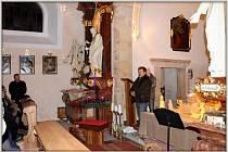 Kostel v Letinech