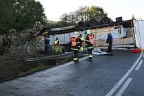 Nehoda zcela uzavřela silnici z Plzně do Nepomuku