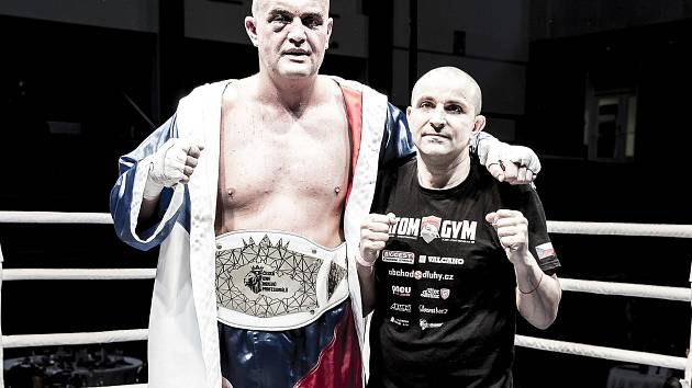Pavel Šour (vlevo) s trenérem Veselinem Karagiozovem.