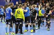 Lovosice, poslední semifinále házenkářské extraligy Lovosice – Plzeň