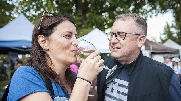 Slavnosti vína na Bolevecké návsi.