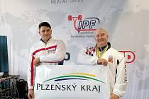 Jaroslav Šoukal (na snímku vpravo) a Šimon Král (vlevo) reprezentovali Česko republiku na MS ve Švédsku.
