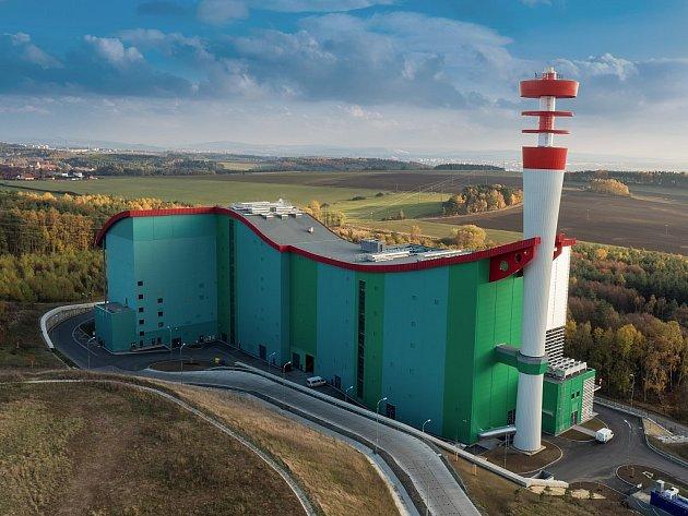Průmyslové stavby: ZEVO Plzeň