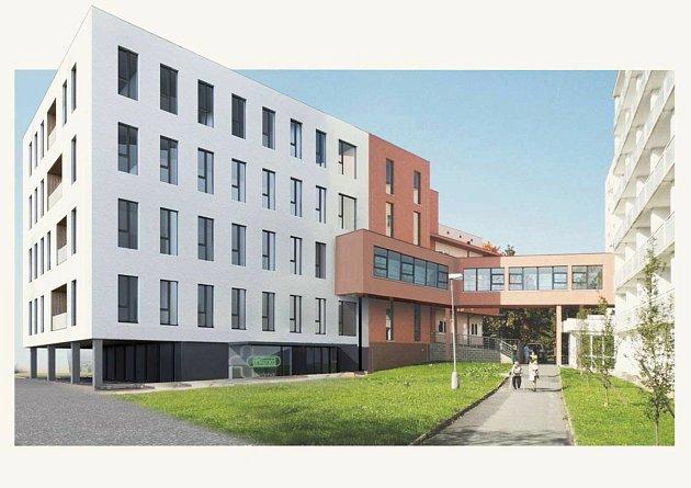 Nová budova pro ambulance a například ilékárnu vznikne uNemocnice Privamed vKotíkovské ulici vPlzni na Lochotíně.