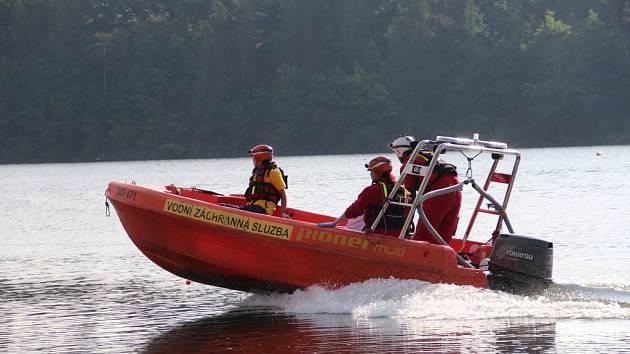 Vodní záchranná služba Hracholusky