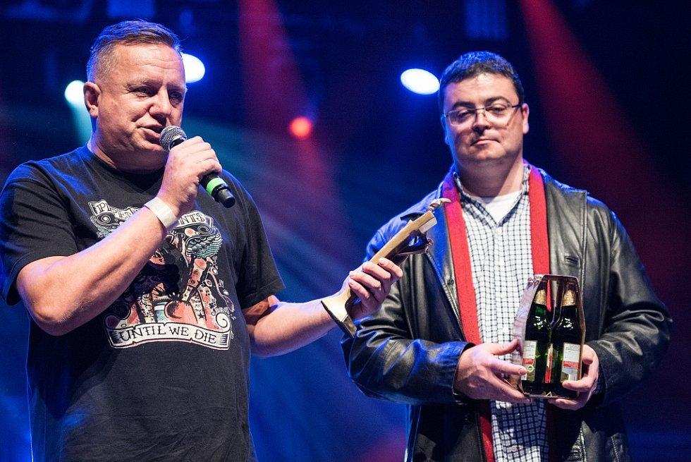 Vyhlášení hudební ankety Žebřík 2015 - akcí roku byl vyhlášen festival Hrady.cz