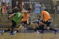 Talent Plzeň ve středu večer v Karviné zvítězil ve čtvrtém finálovém utkání 35:34