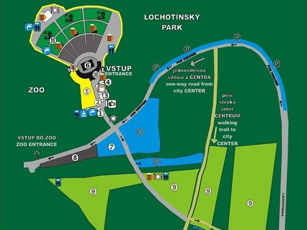 Mapa Metalfestu