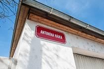 Ulice Antonína Hájka v Plzni.