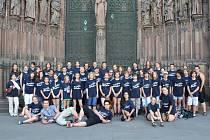 Plzeňský sbor Mariella loni koncertoval ve Štrasburku, tento  pátek se chystá do Pekla