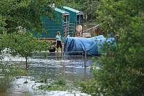 Následky bouřky z 8. července