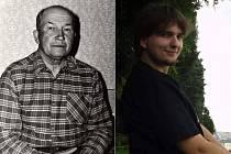 U Plzeňanky Lenky Bryndové se jméno Josef objevuje už pět generací. Vlevo je  její  dědeček Josef Hubka, vpravo syn Josef.