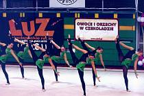 Tým juniorek Sokola Plzeň IV si díky druhému místu na závodech ve Wroclawi (snímek) zajistil účast ve finále Světového poháru v estetické skupinové gymnastice v  Madridu