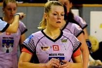 Zkušená házenkářka Petra Bubeníková (na snímku) si naposledy zahrála interligu žen v dresu Písku. Nyní se stala čerstvou posilou týmu HC Plzeň.