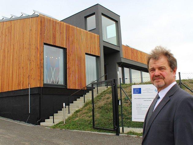 Na snímku předseda sdružení AKTIVITY PRO Vladislav Houda, který centrum povede.