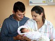 Eliška Groschopfová se narodila 13. října v 10:35 mamince Veronice a tatínkovi Karlovi z Nýřan. Po příchodu na svět v rokycanské porodnici vážila jejich prvorozená dcera 3060 gramů a měřila 50 centimetrů.