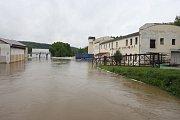Povodeň v Plzni-Lobzích