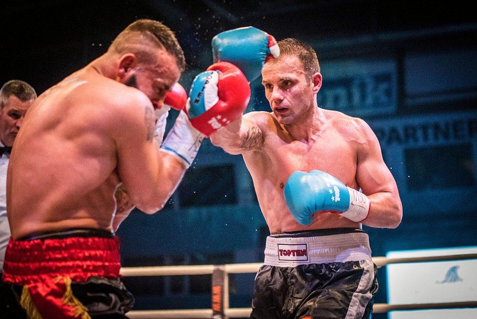 Sobotní Galavečer profesionální boxu v Plzni. Štěpán Horváth versus David Doria.