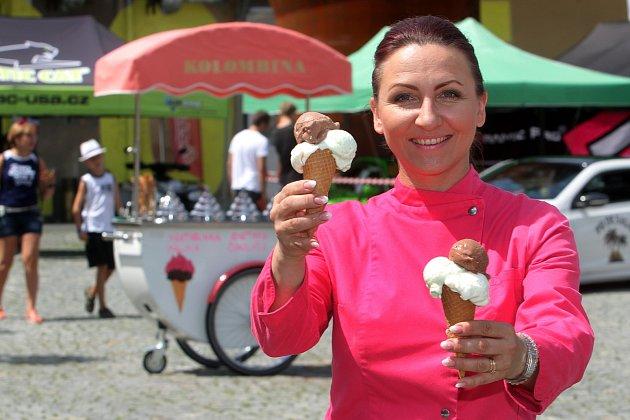 Zmrzlinářka Jitka Strnadová z Kolombíny