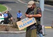 Extremisté prošli Plzní