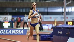 Diana Mezuliáníková z olympijského stadionu...