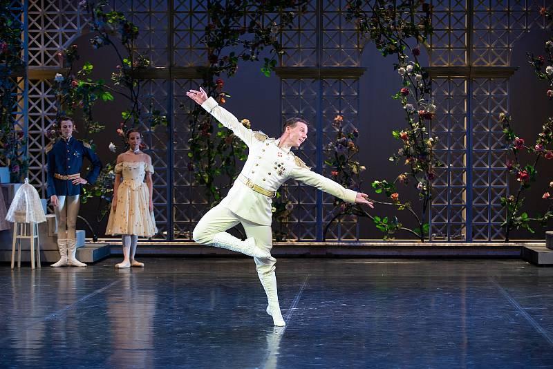 Richard Ševčík při generální zkoušce baletu Anastázie - poslední dcera cara v Divadle J. K. Tyla v Plzni.