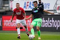 Při utkání 2. předkola Ligy mistrů v Alkmaaru, které viktoriáni prohráli po prodloužení 1:3, nechyběl Milan Havel v sestavě. Zahraje si konečně i proti Bohemians 1905?