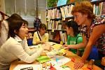 Japonské dny v knihovně na Doubravce