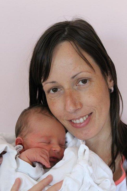 Tříapůl letý Michal Macho má radost z narození brášky Kryštofa (3,45 kg, 49 cm), který se narodil 14. června v 6:06 v plzeňské fakultní nemocnici mamince Evě a tatínku Davidovi z Plzně