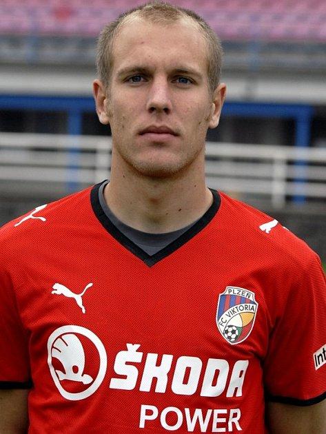 Záložník Daniel Kolář se dočkal v utkání proti Mladé Boleslavi prvního ligového gólu v dresu Viktorie Plzeň